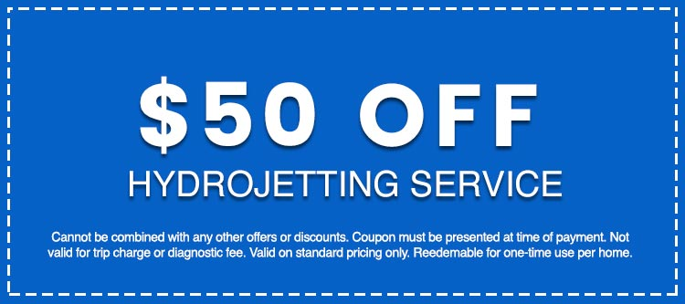 Discounts on Hydrojetting Service