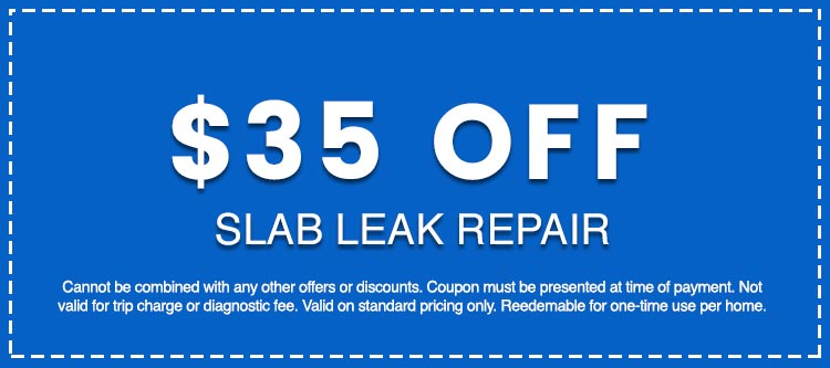 Discounts on Slab Leak Repair