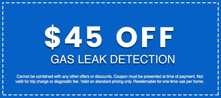 Discounts on Gas Leak Detection