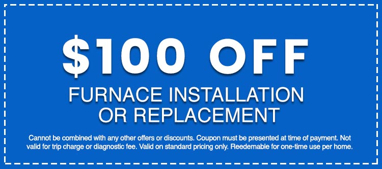 Discounts on Furnace Installation or Replacement