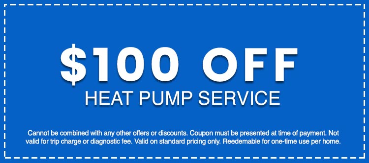 Discounts on Heat Pump Service