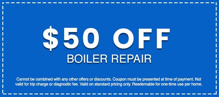 Discounts on Boiler Repair