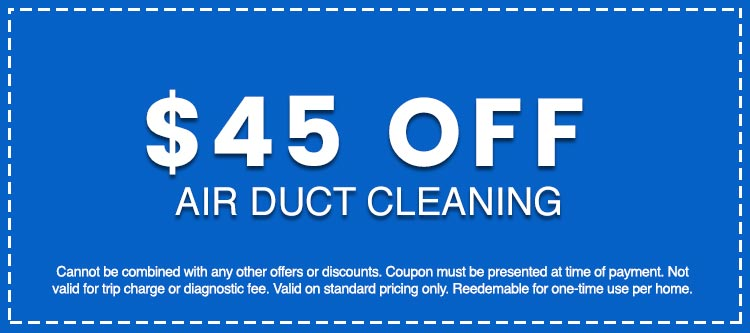 Discounts on Air Duct Cleaning
