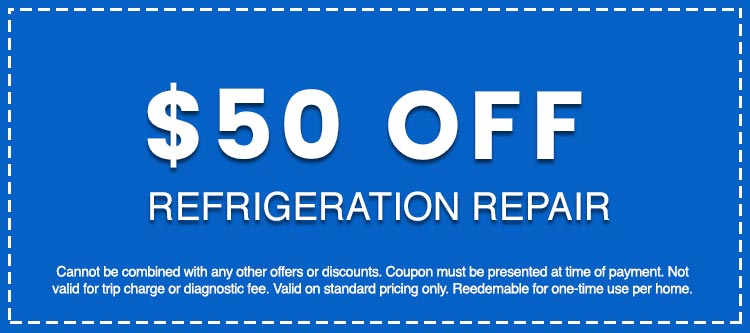 Discounts on Refrigeration Repair